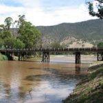 Bridge into town